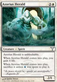 Azorius Herald Magic Card