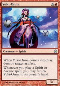 Yuki-Onna Magic Card