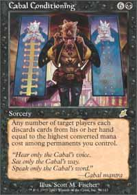 Cabal Conditioning Magic Card