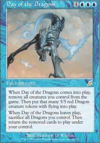 Day of the Dragons Magic Card