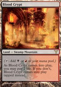 Blood Crypt Magic Card