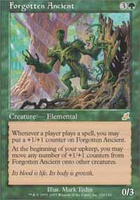 Forgotten Ancient Magic Card