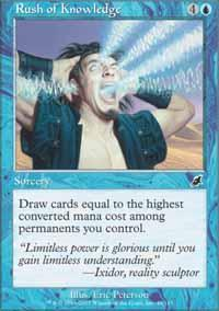 Rush of Knowledge Magic Card