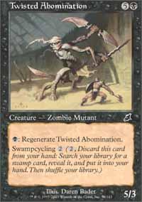 Twisted Abomination Magic Card
