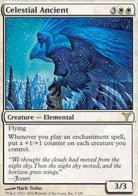 Celestial Ancient Magic Card