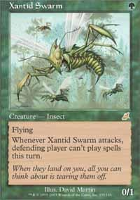 Xantid Swarm Magic Card
