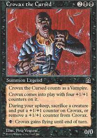 Crovax the Cursed Magic Card