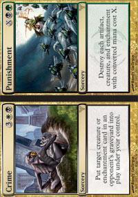 Crime // Punishment Magic Card