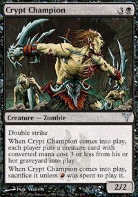 Crypt Champion Magic Card