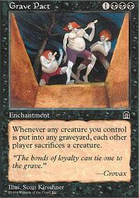 Grave Pact Magic Card