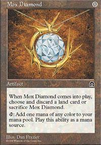 Mox Diamond Magic Card
