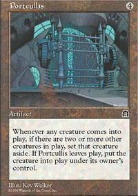 Portcullis Magic Card