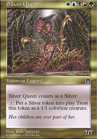 Sliver Queen Magic Card