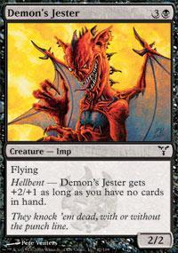Demon's Jester Magic Card