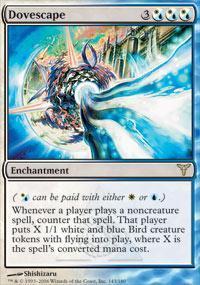 Dovescape Magic Card
