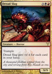 Dread Slag Magic Card