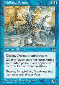 Walking Dream Magic Card