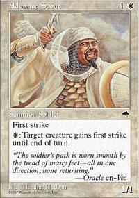 Advance Scout Magic Card