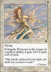 Angelic Protector Magic Card