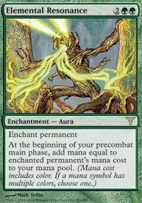 Elemental Resonance Magic Card