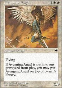 Avenging Angel Magic Card