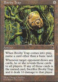Booby Trap Magic Card