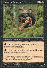 Bounty Hunter Magic Card