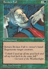 Broken Fall Magic Card