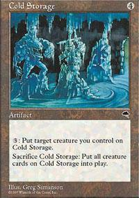 Cold Storage Magic Card