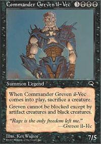 Commander Greven il-Vec Magic Card