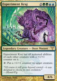 Experiment Kraj Magic Card