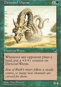 Dirtcowl Wurm Magic Card