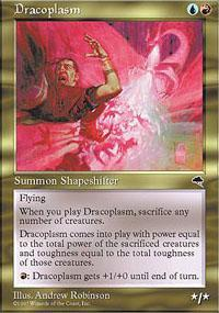 Dracoplasm Magic Card