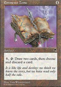 Emmessi Tome Magic Card