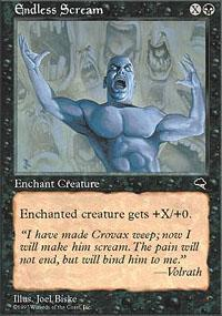 Endless Scream Magic Card