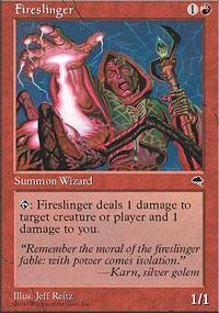 Fireslinger Magic Card