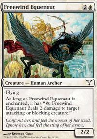 Freewind Equenaut Magic Card