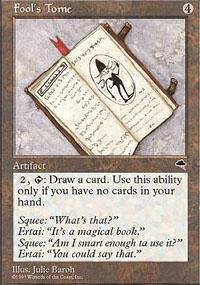 Fool's Tome Magic Card