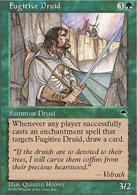 Fugitive Druid Magic Card