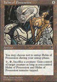 Helm of Possession Magic Card