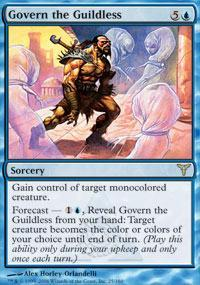 Govern the Guildless Magic Card
