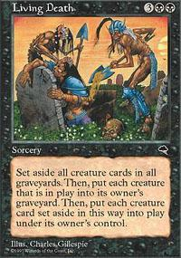 Living Death Magic Card