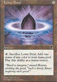 Lotus Petal Magic Card