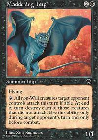 Maddening Imp Magic Card