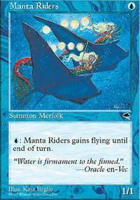 Manta Riders Magic Card