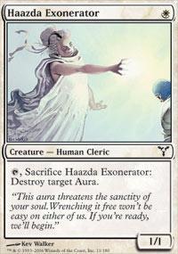 Haazda Exonerator Magic Card