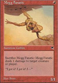Mogg Fanatic Magic Card