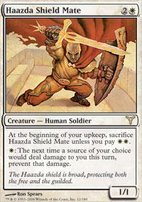 Haazda Shield Mate Magic Card