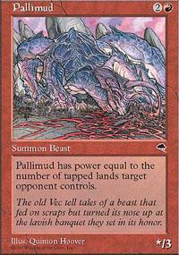 Pallimud Magic Card