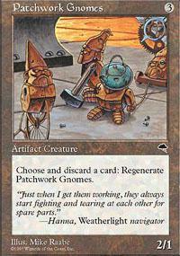 Patchwork Gnomes Magic Card